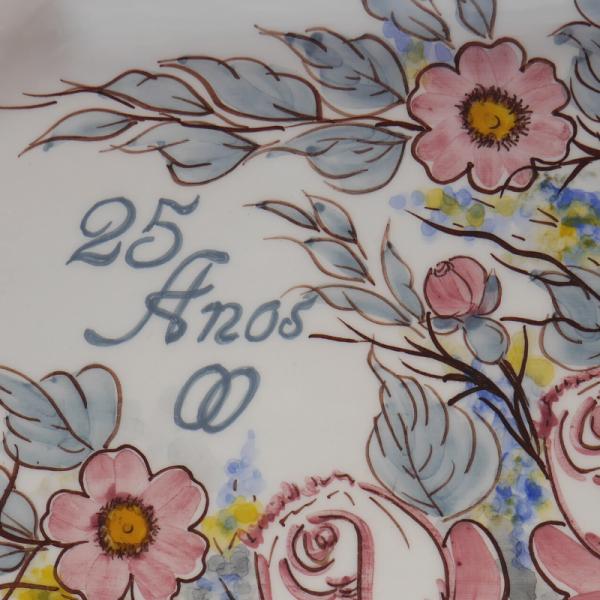 travessa comemorativa-pintura em cerâmica-rosa afonso-feito com alma (2)